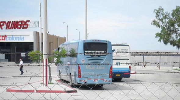 Terminal de Colonia del Sacramento, Uruguay