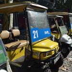Cómo alquilar un carro de golf en Colonia