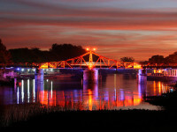 Puente de Carmelo, noche