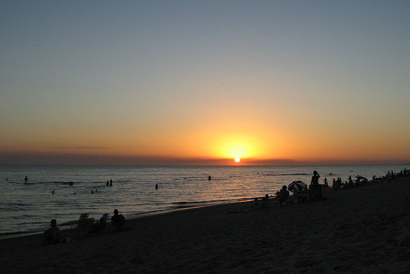 Atardecer Playa Fomento, Colonia